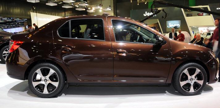 Renault Logan 2014 2015 2016 2017 седан 2 поколение
