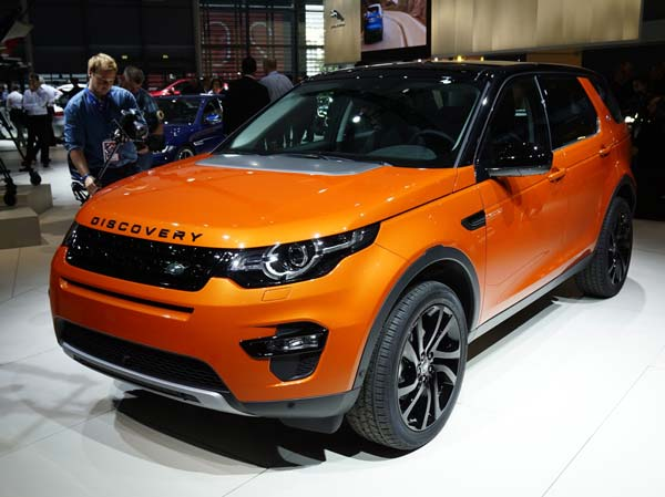 land rover discovery sport 2017 года
