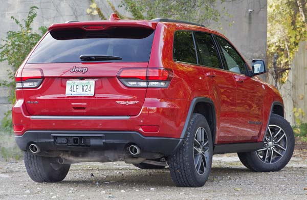 фотографии jeep grand cherokee srt 2018