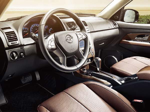 стильный интерьер машины