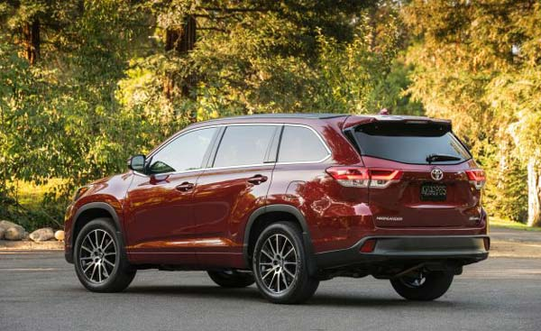 new toyota highlander 2018