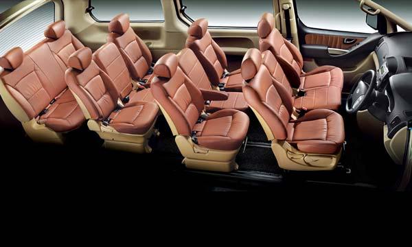 сиденья на 12 человек