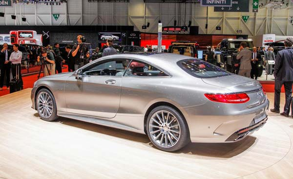 фото mercedes benz s class coupe 2020