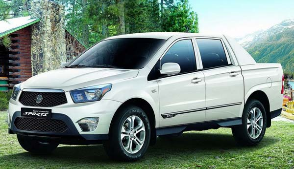 ssangyong actyon sports 2018