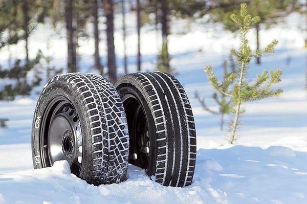 зимние шины или липучка