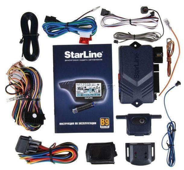 Комплектация StarLine B9