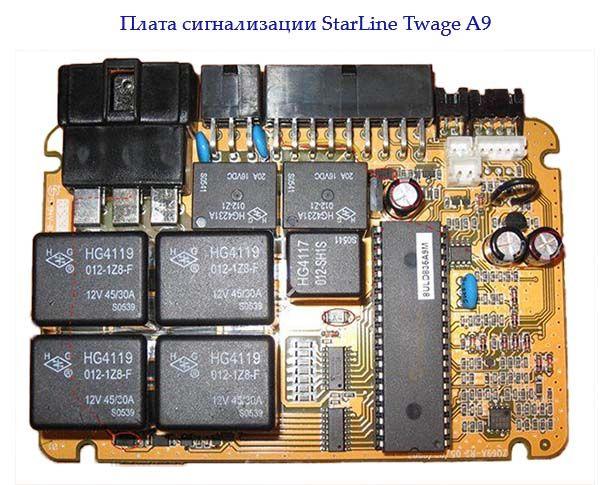 Плата Twage A9