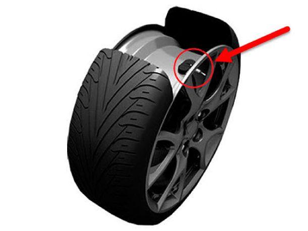 Сенсор внутри шины