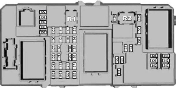 Схема расположения прикуривателя