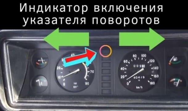 Индикатор поворотников